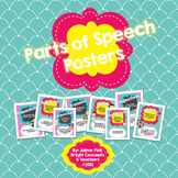 Colorful Parts of Speech Posters