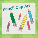 Colorful Pencil Clip Art