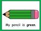 Colorful Pencils- Kindergarten EASY Shared Reading PowerPo