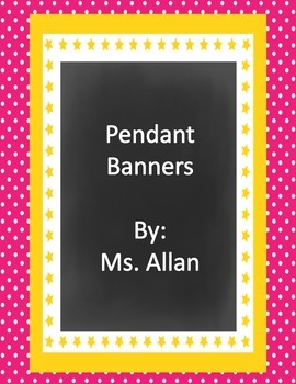Colorful Pendant Banner