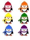 Colorful Penguin Pocket Chart Activity Common Core Aligned