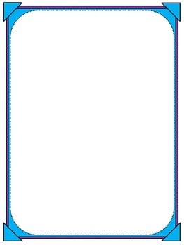 Colorful Picture Frame Borders