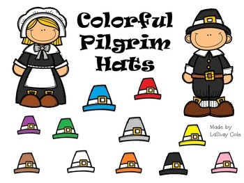 Colorful Pilgrim Hats