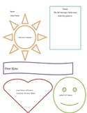 Colorful Poetry Graphic Organizer