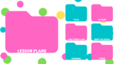 Colorful Polka Dot Desktop Wallpaper Screensaver
