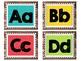 Colorful Polka Dot and Wood Word Wall