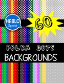 Colorful Polka Dots Backgrounds