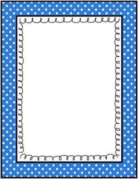 Classroom Decor - Polka Dots Colorful Graphic Frames - 90 Piece Mega Set!