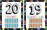 Colorful Polka-dot Numbers 1 - 20