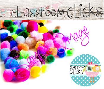 Colorful Pom-Poms Image_218:Hi Res Images for Bloggers & Teacherpreneurs