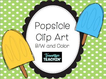 Colorful Popsicle Clip Art