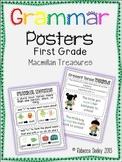 Macmillan Treasures-Colorful Primary Grammar Posters
