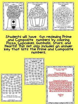 Colorful Prime and Composite Numbers