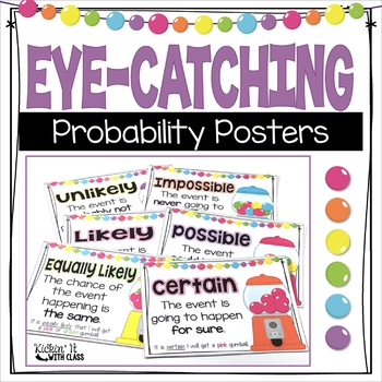 Colorful Probability Posters