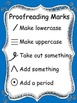 Colorful Proofreading Marks Posters