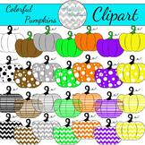 Colorful Pumpkin Clipart