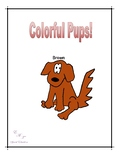Colorful Pups Folder Game
