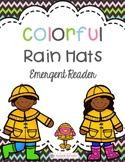 Colorful Rain Hats FREEBIE { Spring Emergent Reader}