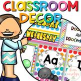 Classroom Decor Editable {Color Pop Theme}