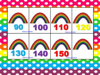Colorful Rainbows: Number Order