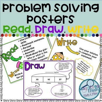 Colorful Read, Draw, Write Posters (RDW)