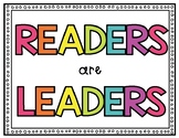 Colorful Reading Quote Posters