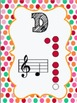 Colorful Recorder Fingering Charts and Memory Game!