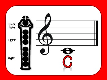 Colorful Recorder Fingering Posters (FREE!)