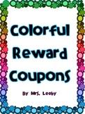 Colorful Reward Tickets