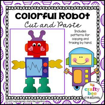 Robot Craft {Colorful Robot}