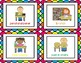 Colorful Scallop Frames Job Chart Cards
