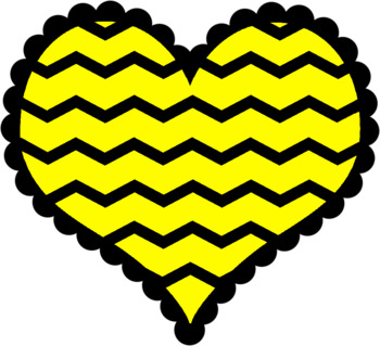 Hearts - Bright Colorful Clipart - Great for Valentine's Day!