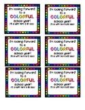 Colorful School Year
