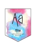 Colorful Science Alphabet Banner