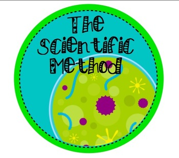 Colorful Scientific Method Mini-Posters! (All colors now included!)