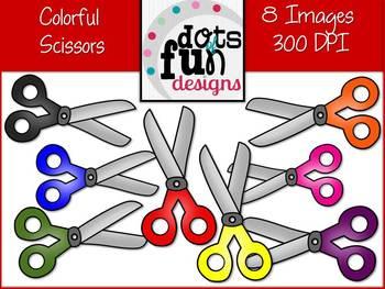 Colorful Scissor Set