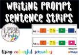 Colorful Semantics sentence writing strips