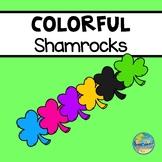 Colorful Shamrocks