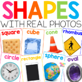 Colorful Shapes Posters with Photographs