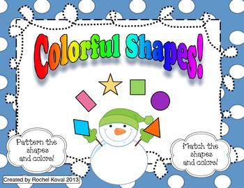 Colorful Shapes!