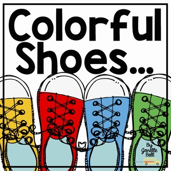 Colorful Shoes Color Chart and Color Cards