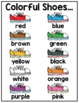 Colors Word Wall Cards