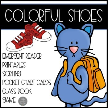Colorful Shoes for the Cat