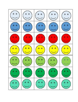 Colorful Smiley Faces