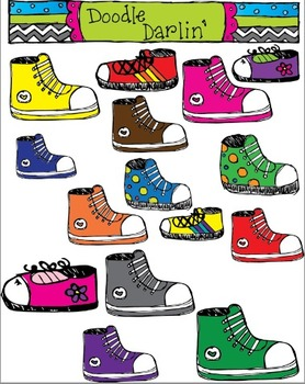 Colorful Sneakers COLOR Set