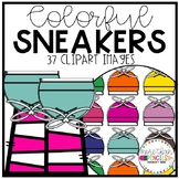 Colorful Sneakers Clipart