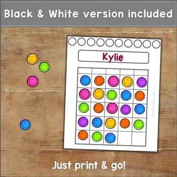 Colorful Sticker Chart Free
