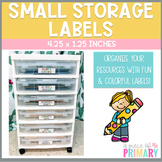 Colorful Storage Labels- Small