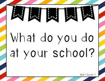 Colorful Striped Wonders 1st Grade Essential Questions Units 1-6