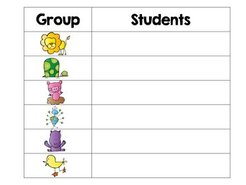 Colorful Student Groups!